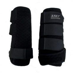 Anky Beenbeschermers zwart maat:s