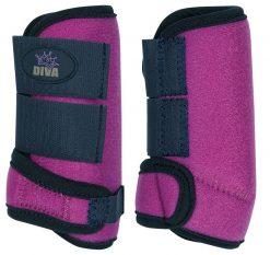 Harry's Horse Beenbeschermers Diva Purple