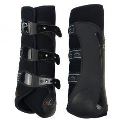 Veredus Piaffe Revolution beenbeschermers achter zwart maat:l