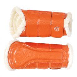 EQ Beenbeschermers Voor oranje maat:l