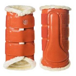 EQ beenbeschermers achter oranje maat:l